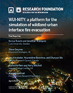 Featured item WUI-NITY: a platform for the simulation of wildland-urban interface fire evacuation