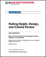 Featured item Railing Height, Design, and Criteria Review