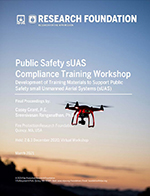 Featured item Public Safety sUAS Compliance Training Workshop