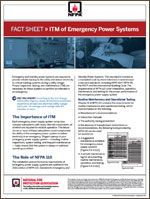 Featured item ITM of Emergency Power Systems