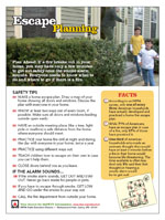 Featured item Escape planning safety tip sheet