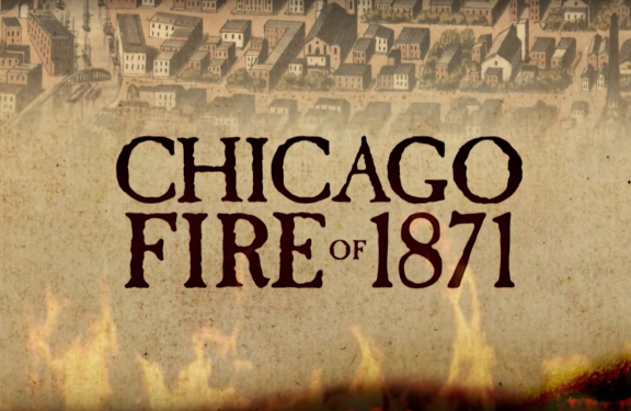 chicago fire 1871 cause