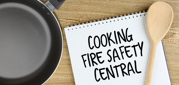 Cooking Fire Safety Central slide