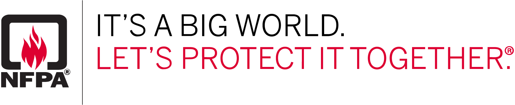 NFPA - It's a big world, let's protect it together