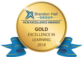 2018 Brandon Hall Gold Excellence in Learning Award