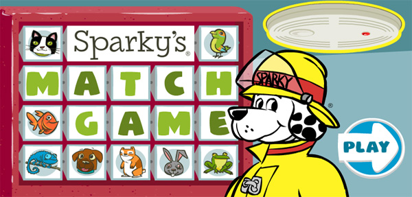 Sparky's Match Game