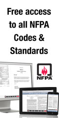 Free access to NFPA codes and standards