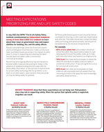 Featured item NFPA Fire & Life Safety Policy Institute fact sheet