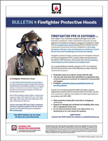 Featured item Firefighter Protective Hoods