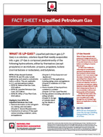 Featured item Liquified Petroleum Gas fact sheet