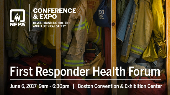 First Responder Health Forum to be held at NFPA's Conference & Expo