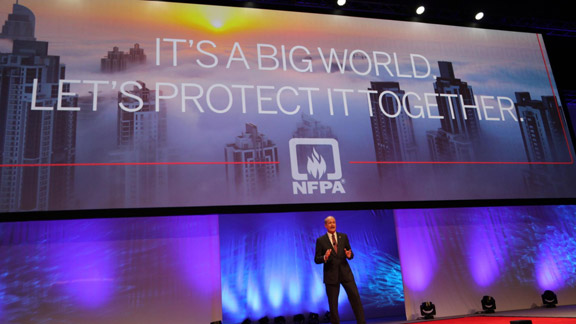 Jim Pauley speaks at NFPA Conference & Expo