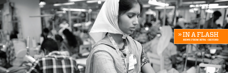 Bangladesh female worker in a garment factory