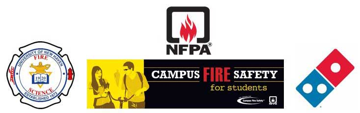 Campus fire safety banner