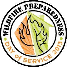 Wildfire Preparedness Day of Service logo