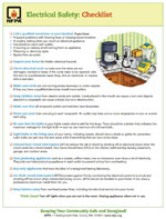 Featured item Electrical safety checklist