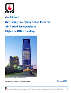Featured item Guidelines to Developing Emergency Action Plans for All-Hazard Emergencies in High-Rise Office Buildings
