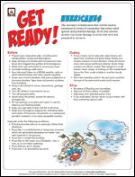 Featured item Hurricane safety tip sheet