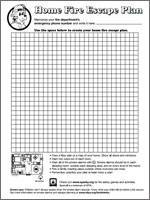 Featured item Home escape planning grid