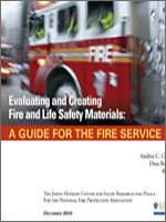 Featured item Evaluating and Creating Fire and Life Safety Materials