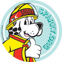 Featured item Sparky the Fire Dog