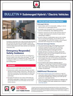 Featured item Bulletin: Submerged hybrid/electric vehicles