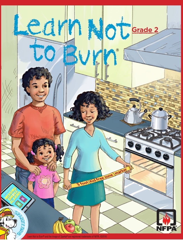 Learn Not to Burn Grade 2 cover