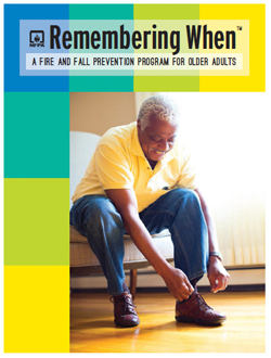 Featured item Fire and fall prevention program for older adults