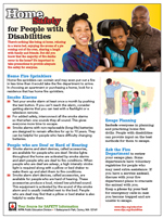 Featured item Home safety for people with disabilities