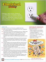 Featured item Electrical safety tips