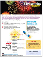 Featured item Fireworks safety tip sheet
