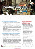 Featured item Safety tip sheet on hoarding