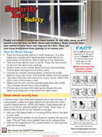 Featured item Security bar safety tip sheet