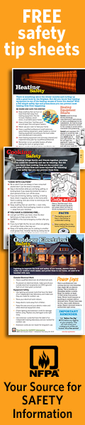 NFPA free safety tip sheets