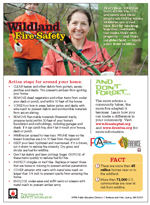 Featured item Wildland fire safety tip sheet