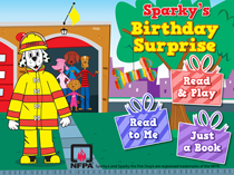 Sparky Birthday Surprise eBook