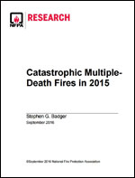 Featured item Catastrophic Multiple-Death Fires in 2015