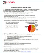 Featured item Christmas tree fact sheet