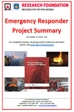 Featured item Emergency Responder project summary