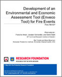 Featured item Development of an Environmental and Economic Assessment Tool for Fire Events report