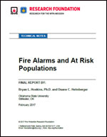 Featured item Fire Alarms and At Risk Populations