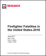 Featured item Firefighter Fatalities in the United States