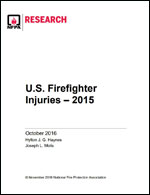 Featured item Firefighter Injuries in the United States