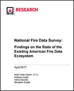 Featured item National Fire Data Survey report