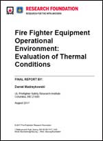 Featured item Fire Fighter Equipment Operational Environment: Evaluation of Thermal Conditions