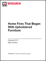 Featured item Home Fires That Began With Upholstered Furniture