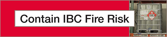 Contain IBC fire risk banner