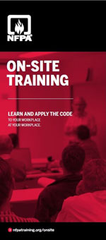 Onsite training brochure cover